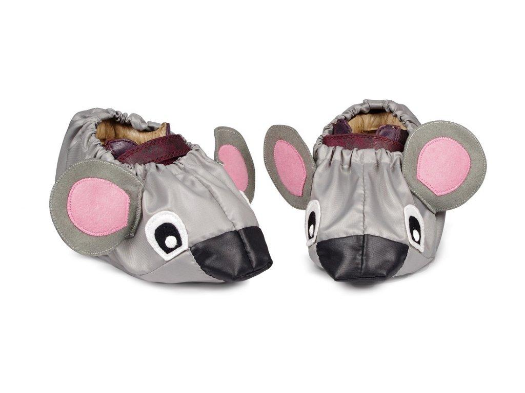 Babygaloše Myška - velikost M - boty vel.20-24