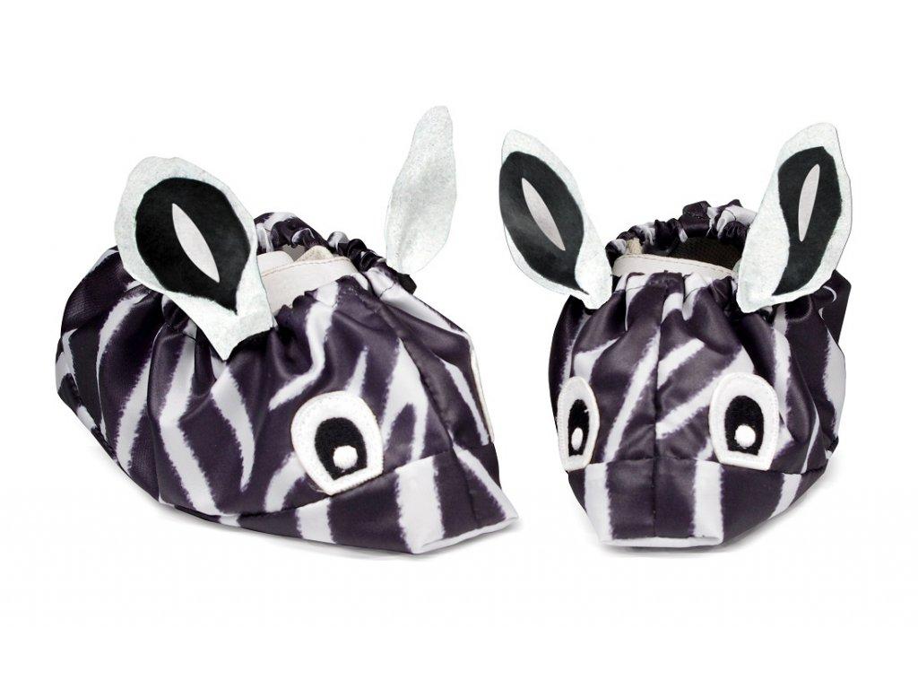 Babygaloše Zebra - velikost L - boty vel.25-29