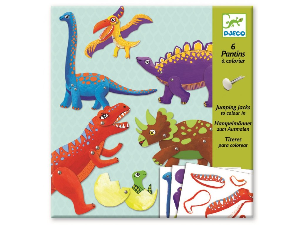 Kreativní sada - Dinosauři