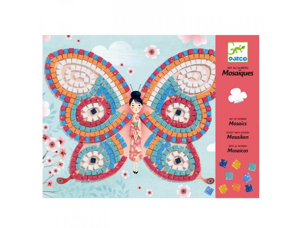 DJECO Kreativní sada - Mozaika - Motýli