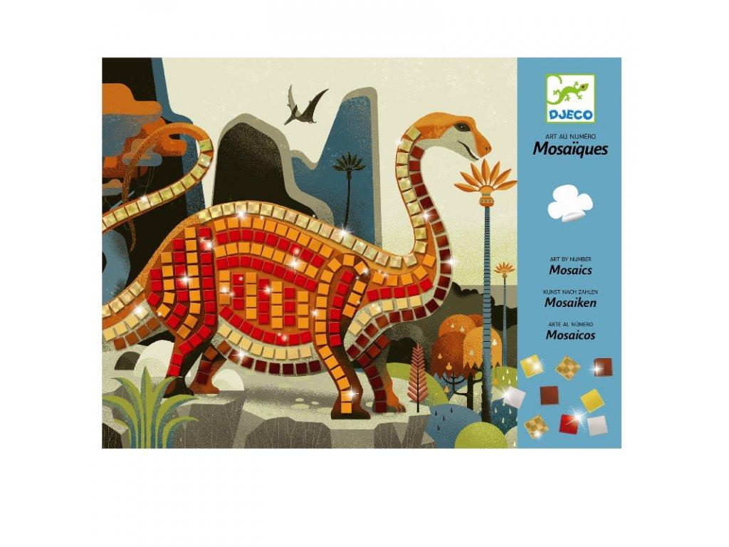 DJECO Kreativní sada - Mozaika - Dinosauři