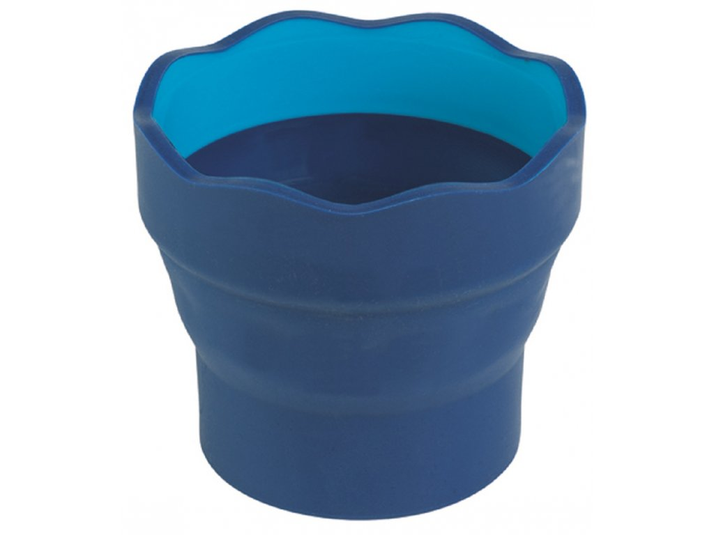 Faber-Castell CLIC&GO kelímek na vodu - modrá