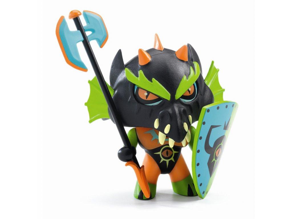 DJECO Pohybllivá figurka - Drack Knight
