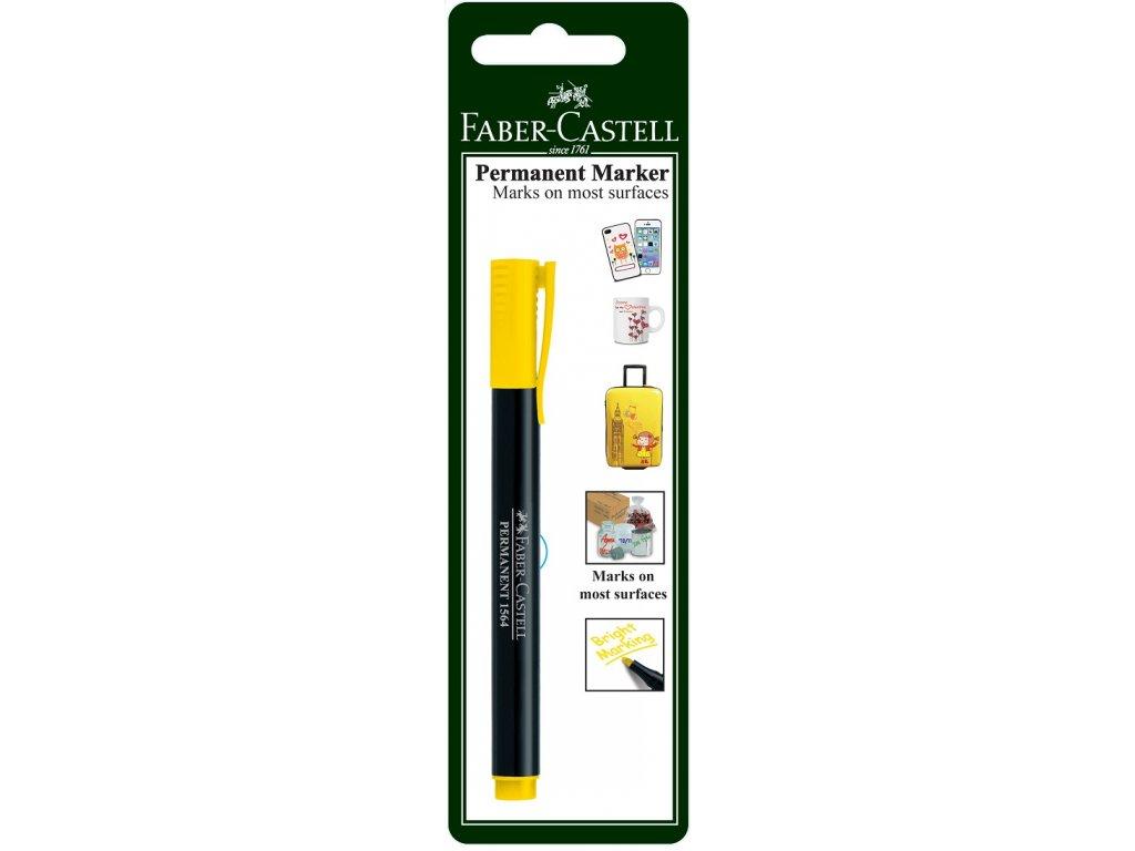 Faber-Castell Popisovač MULTI PURPOSE SLIM, žlutá