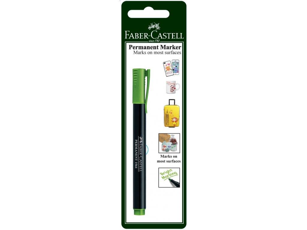 Faber-Castell Popisovač MULTI PURPOSE SLIM, sv.zelená
