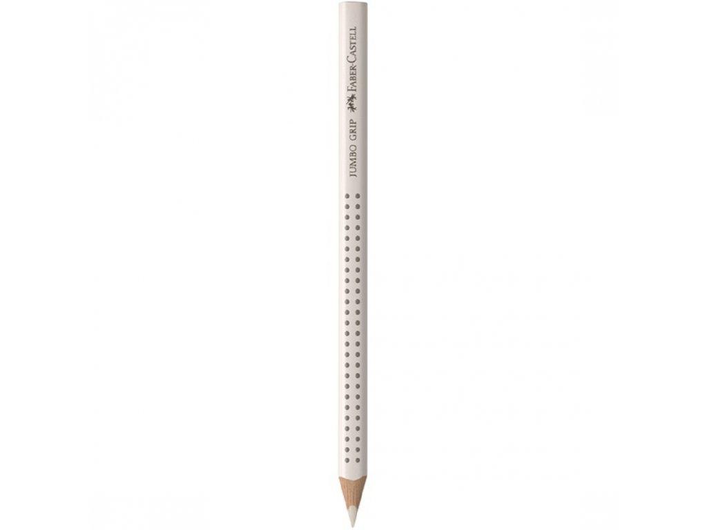 Faber-Castell Pastelka JUMBO GRIP bílá