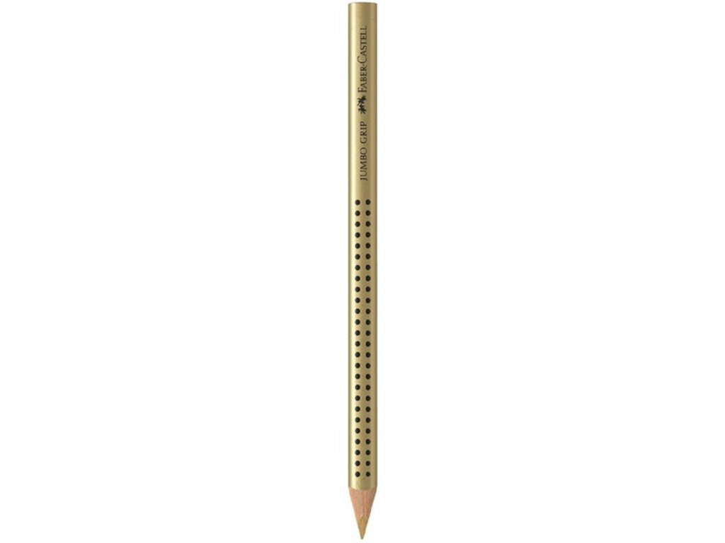 Faber-Castell Pastelka JUMBO GRIP zlatá
