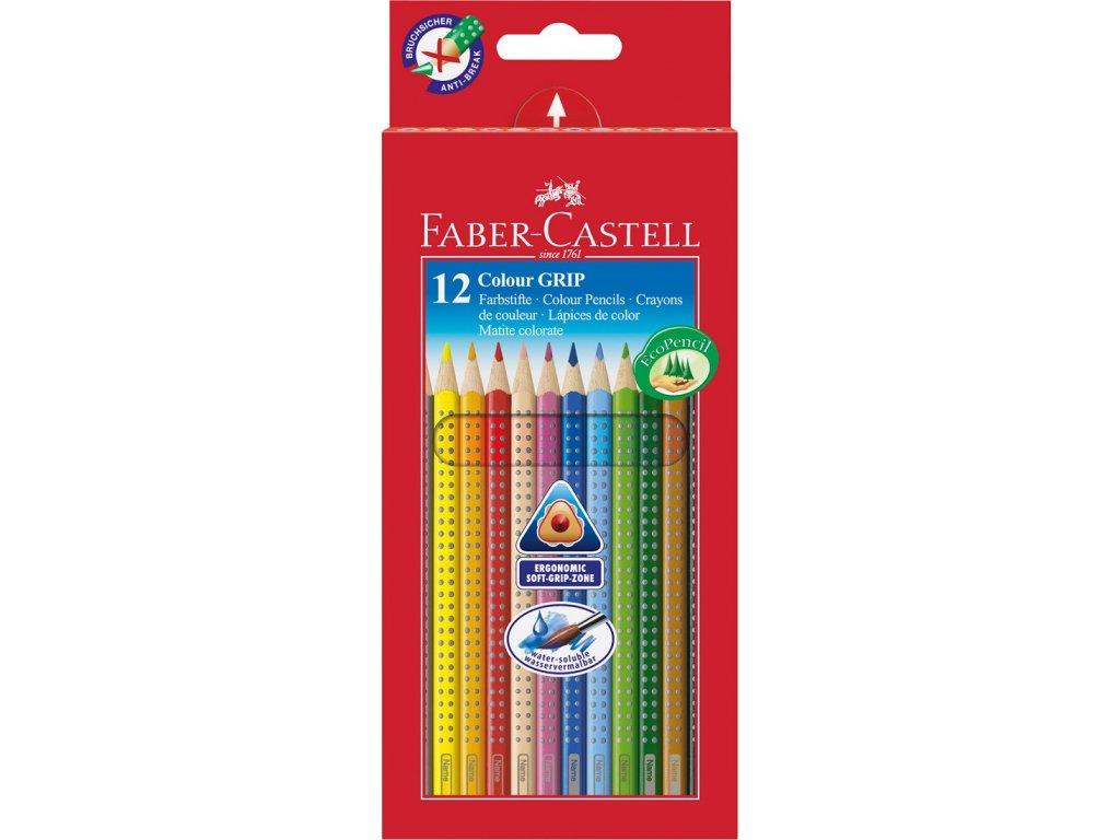 Faber-Castell Pastelky GRIP 2001 pap.krabička 12ks
