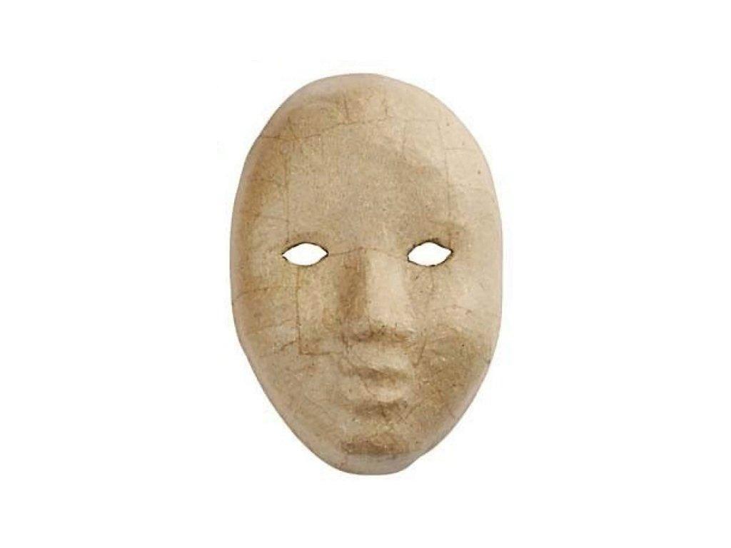 KREUL Papírová maska k dotvoření - varianta F