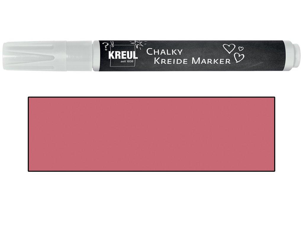 KREUL Křídový marker KREUL Medium příjemná červená