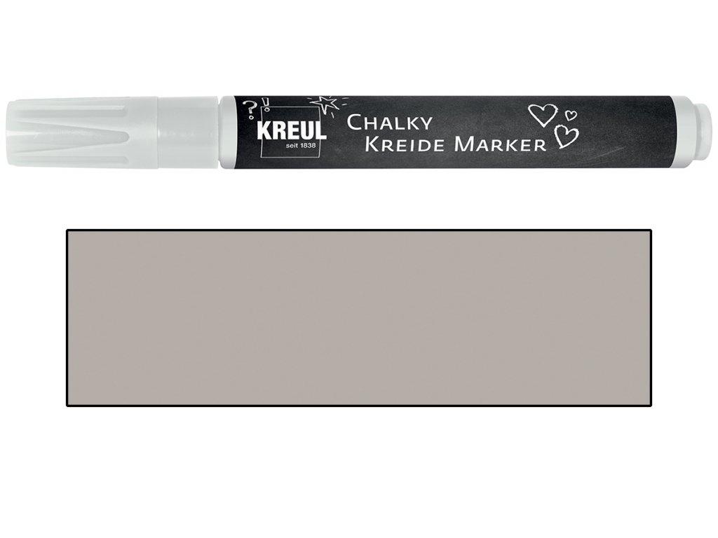 Křídový marker KREUL Medium noblesní nugátová