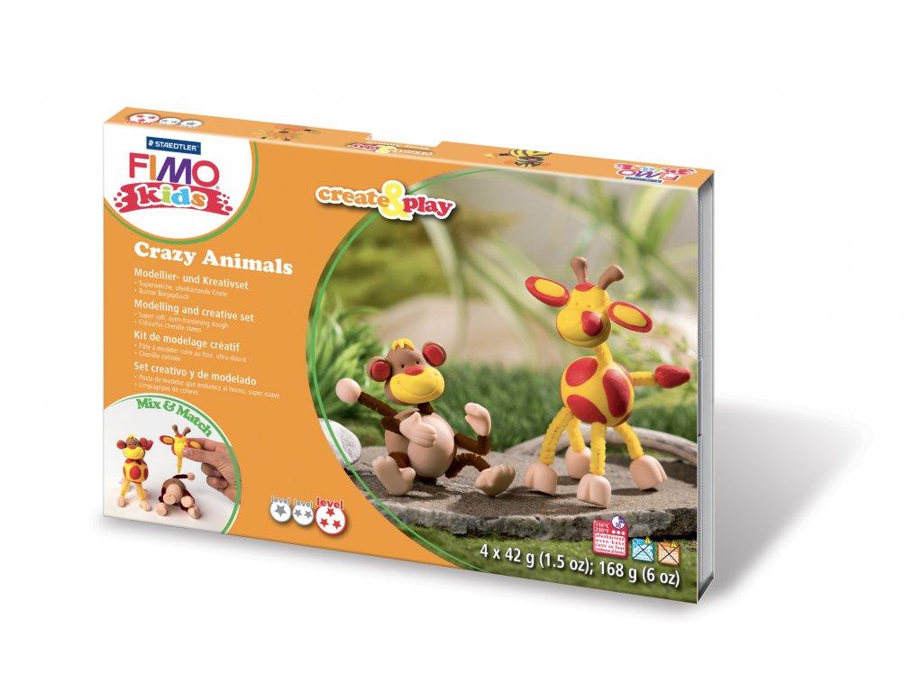 STAEDTLER FIMO kids sada Create and Play OPICE a ŽIRAFA