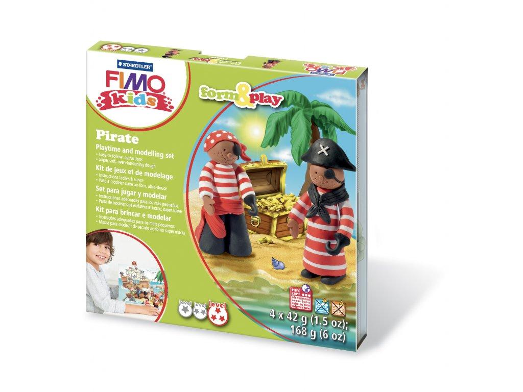 STAEDTLER Sada Fimo kids Form and Play Piráti