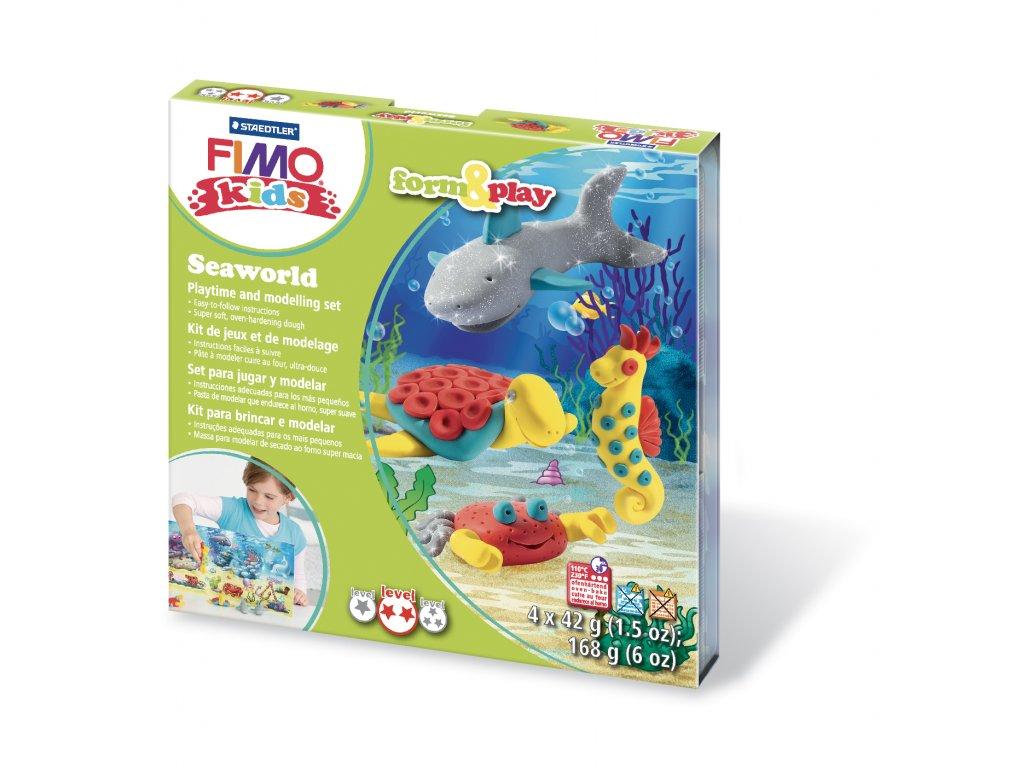 STAEDTLER Sada Fimo kids Form and Play Mořský svět