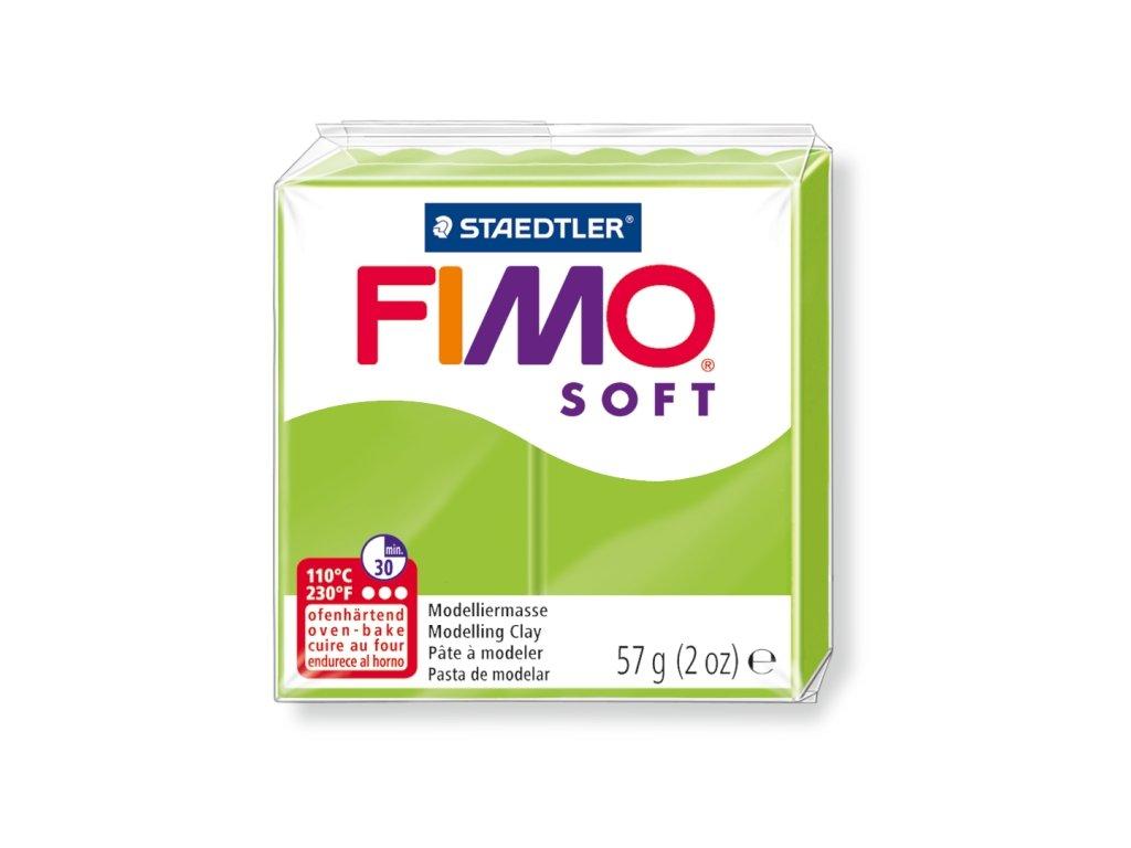 STAEDTLER FIMO soft světle zelená 57g