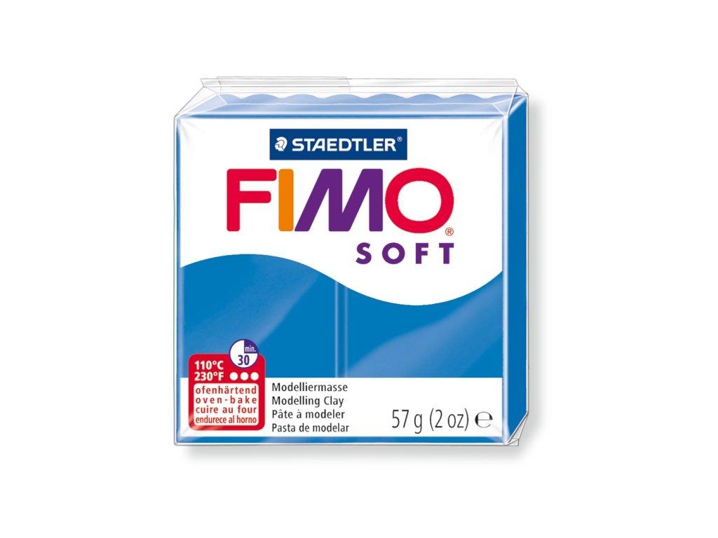 STAEDTLER FIMO soft modrá 57g