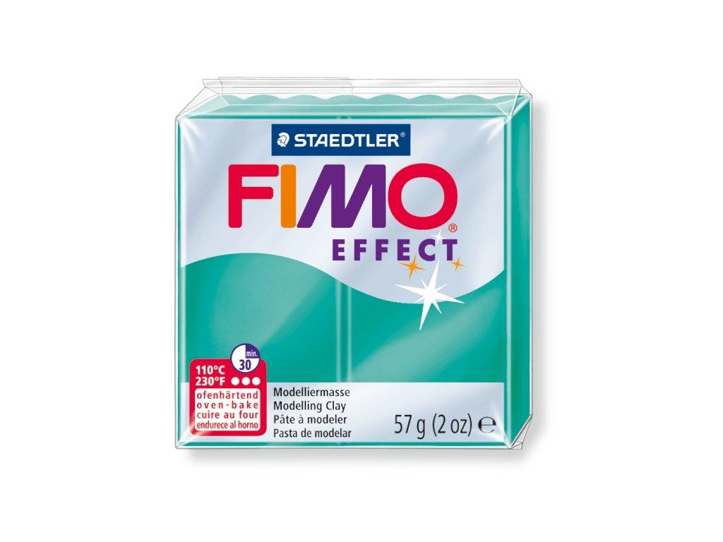 STAEDTLER FIMO efekt transparetní zelená 57g