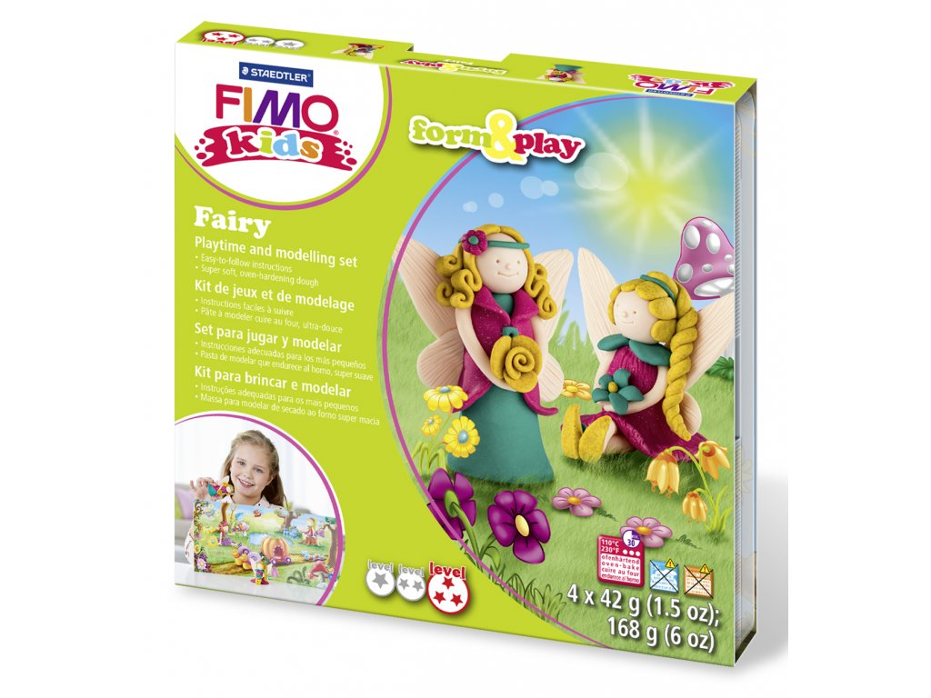 STAEDTLER Sada Fimo kids Form and Play Malá víla