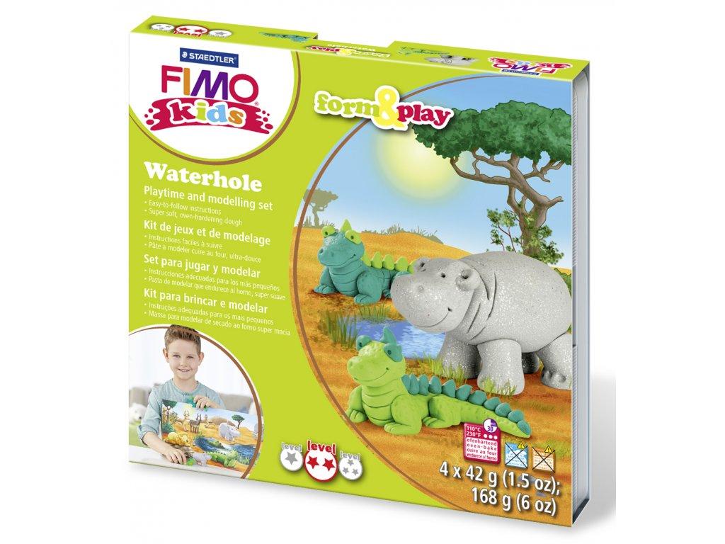 STAEDTLER Sada Fimo kids Form and Play Zvířátka z Afriky