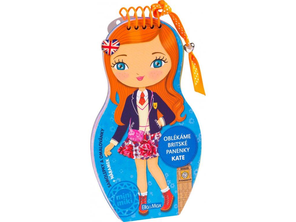 PRESCO GROUP Oblékáme britské panenky - KATE