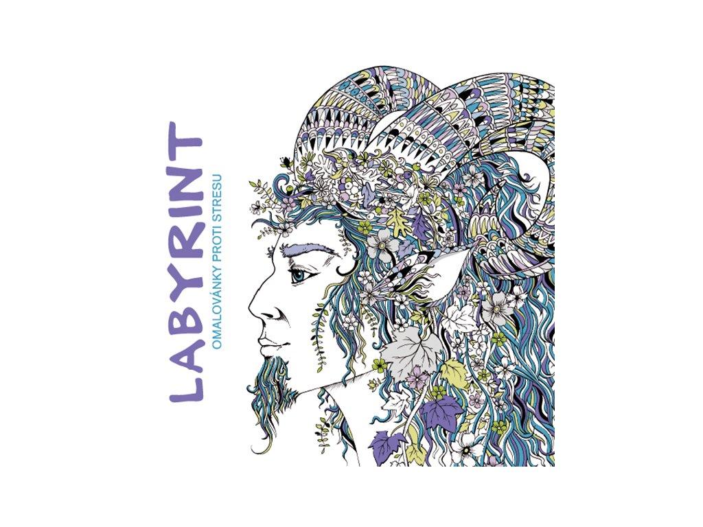 Grada Labyrint - Omalovánky proti stresu