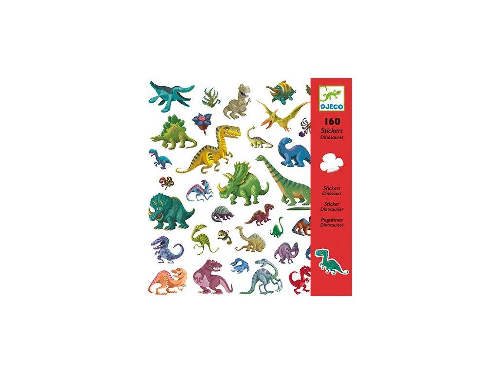 DJECO Samolepky - Dinosauři
