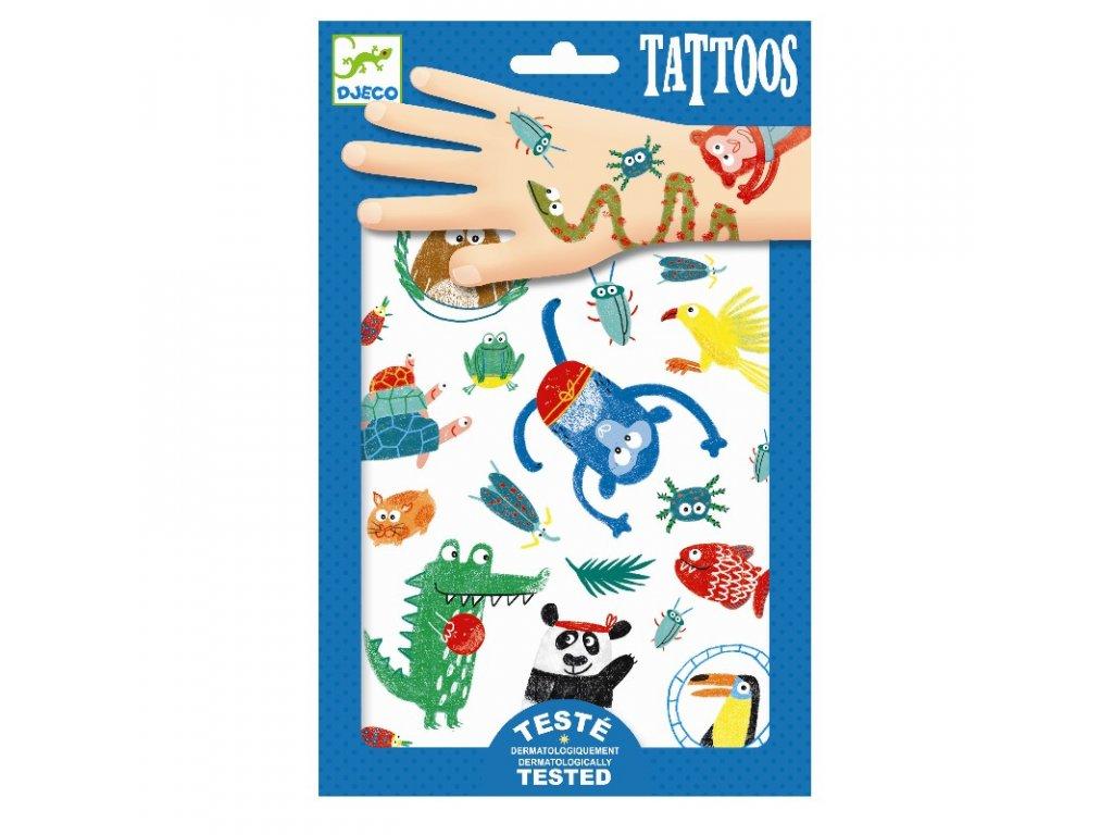 DJECO Tetování - V džungli