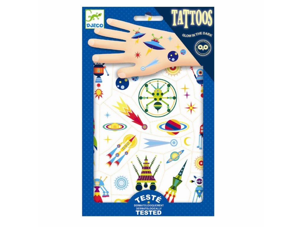 DJECO Tetování - Vesmír