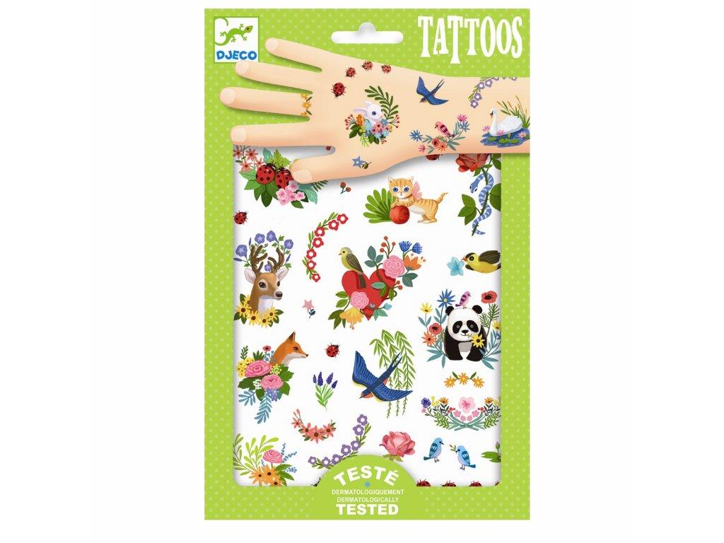 DJECO Tetování - Šťastné jaro