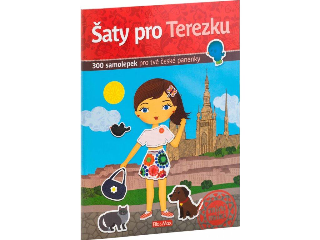PRESCO GROUP Šaty pro TEREZKU - kniha samolepek
