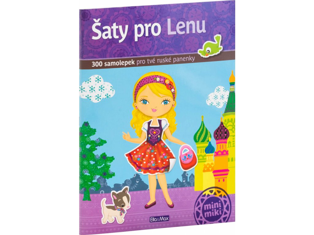 PRESCO GROUP Šaty pro LENU - kniha samolepek