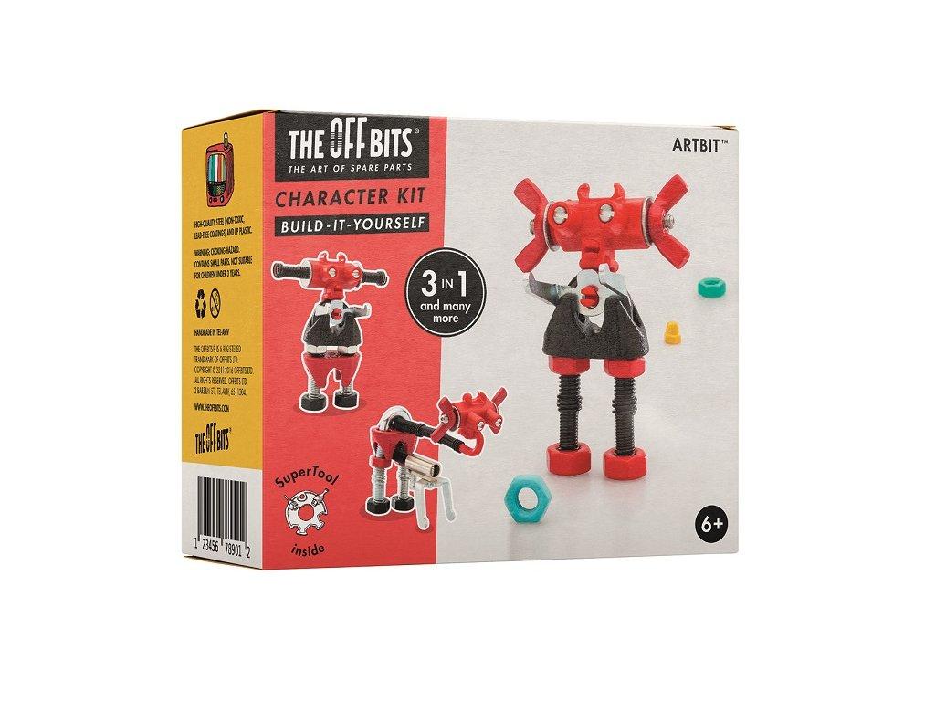 Stavebnice - Postavička ArtBit