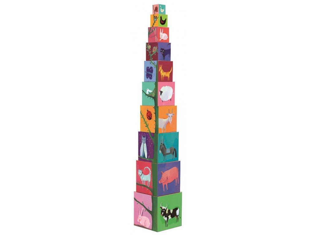 DJECO Krabičková věž - Příroda