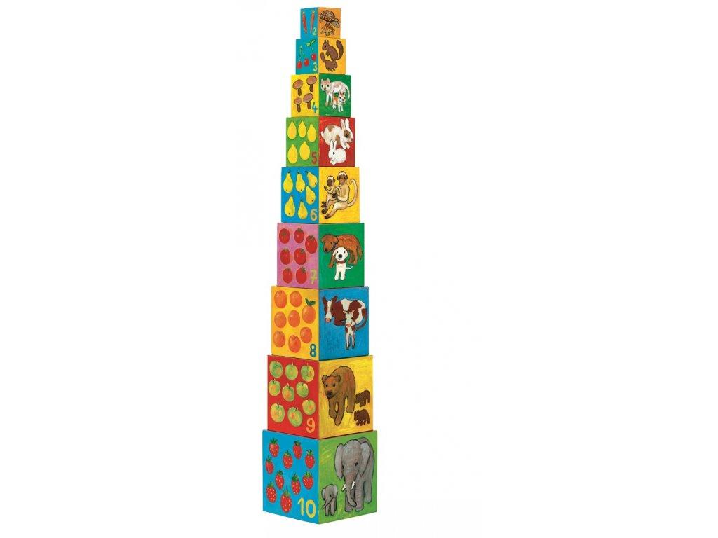 DJECO Krabičková věž - Kamarádi