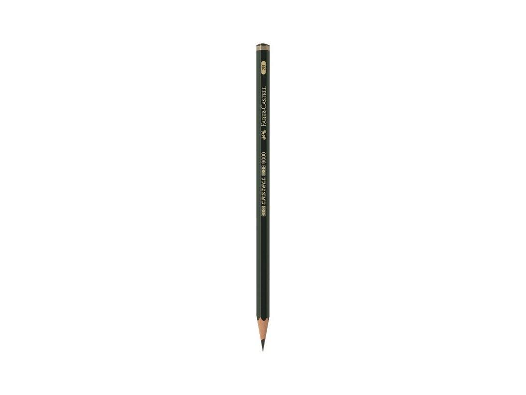 Faber-Castell Grafitová tužka CASTELL 9000 2B