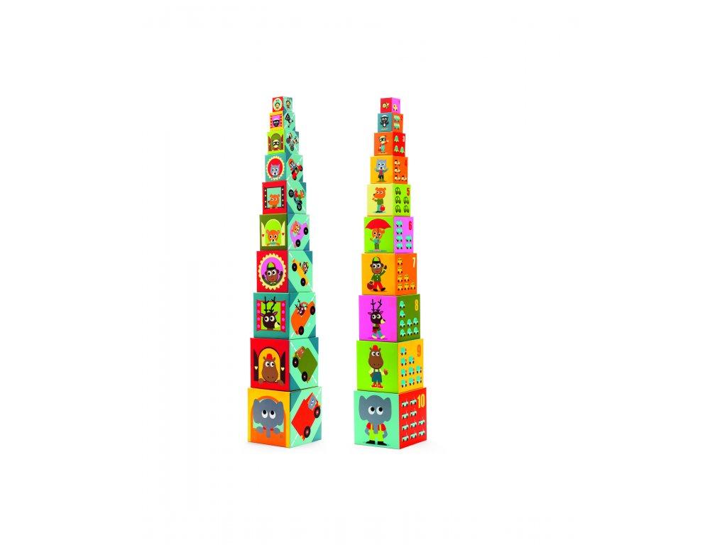 DJECO Krabičková věž - Dopravní prostředky