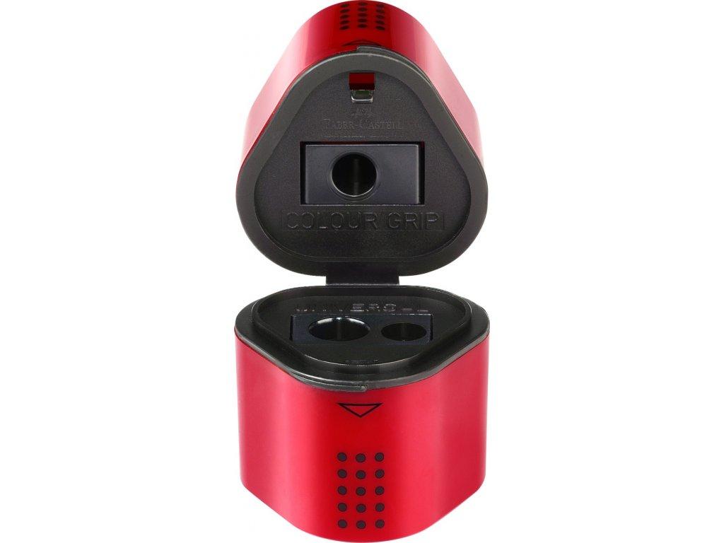 Faber-Castell Ořezávátko GRIP 2001 TRIO - červené, modré