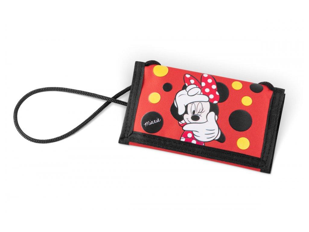 BAAGL Peněženka se šnůrkou na krk - Minnie