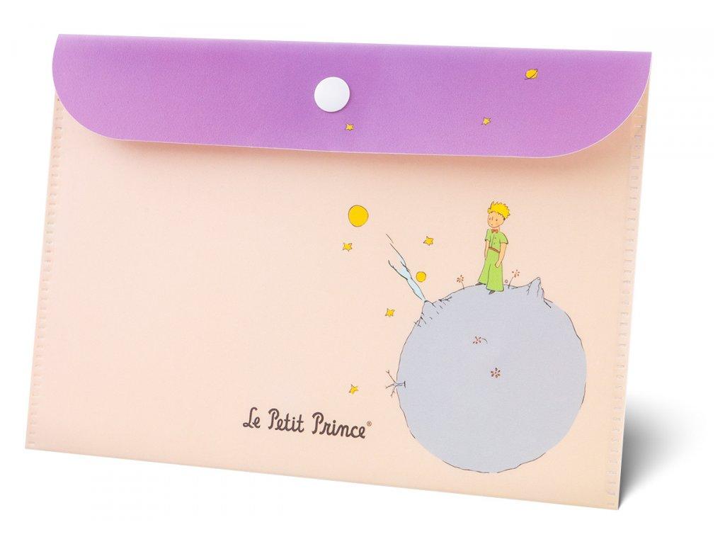 Plastová kapsa s klopou - Malý princ A5