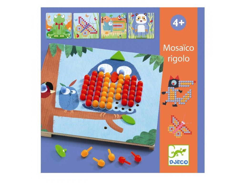 DJECO Mozaika - Zvířátka
