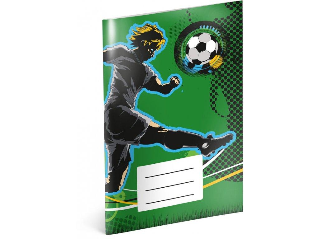 Notýsek - Fotbal, A6, 20 listů, linkovaný