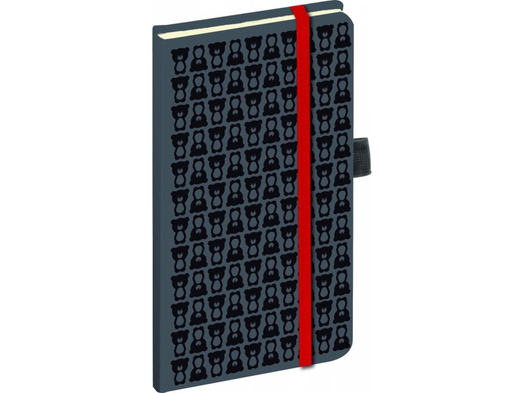 Teribear - notes s linkovaný, 15 x 21 cm