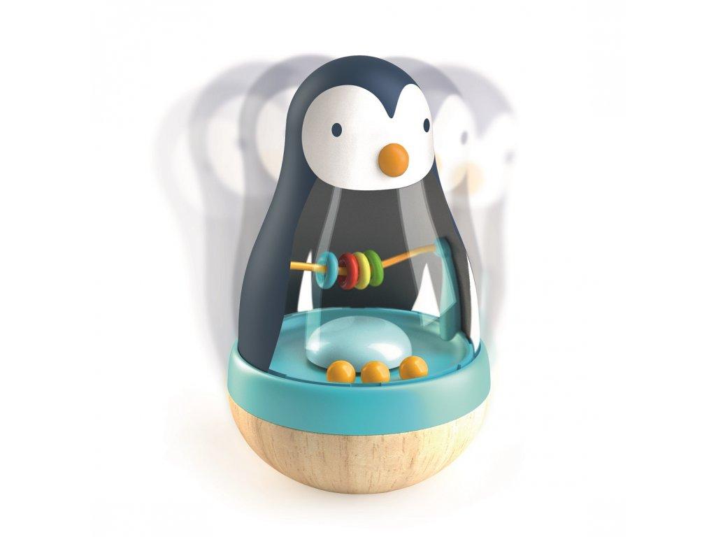 DJECO Kývající tučňák