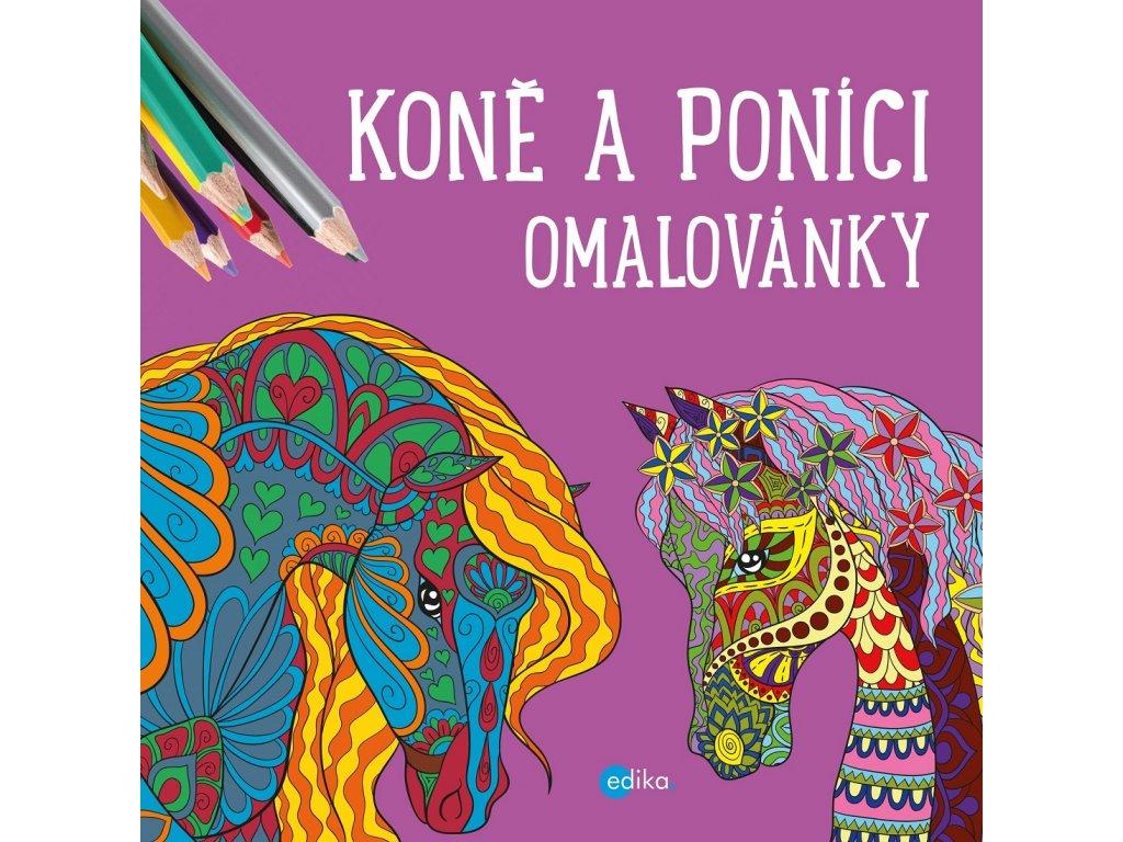 Edika Koně a poníci - omalovánky