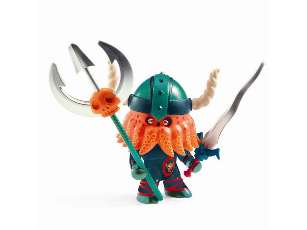 DJECO Pohyblivá figurka - Pohyblivá figurka - Viking Poulpus