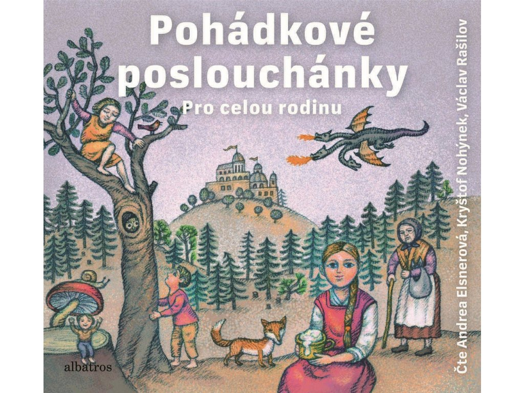 ALBATROS Pohádkové Poslouchánky (audiokniha pro děti)