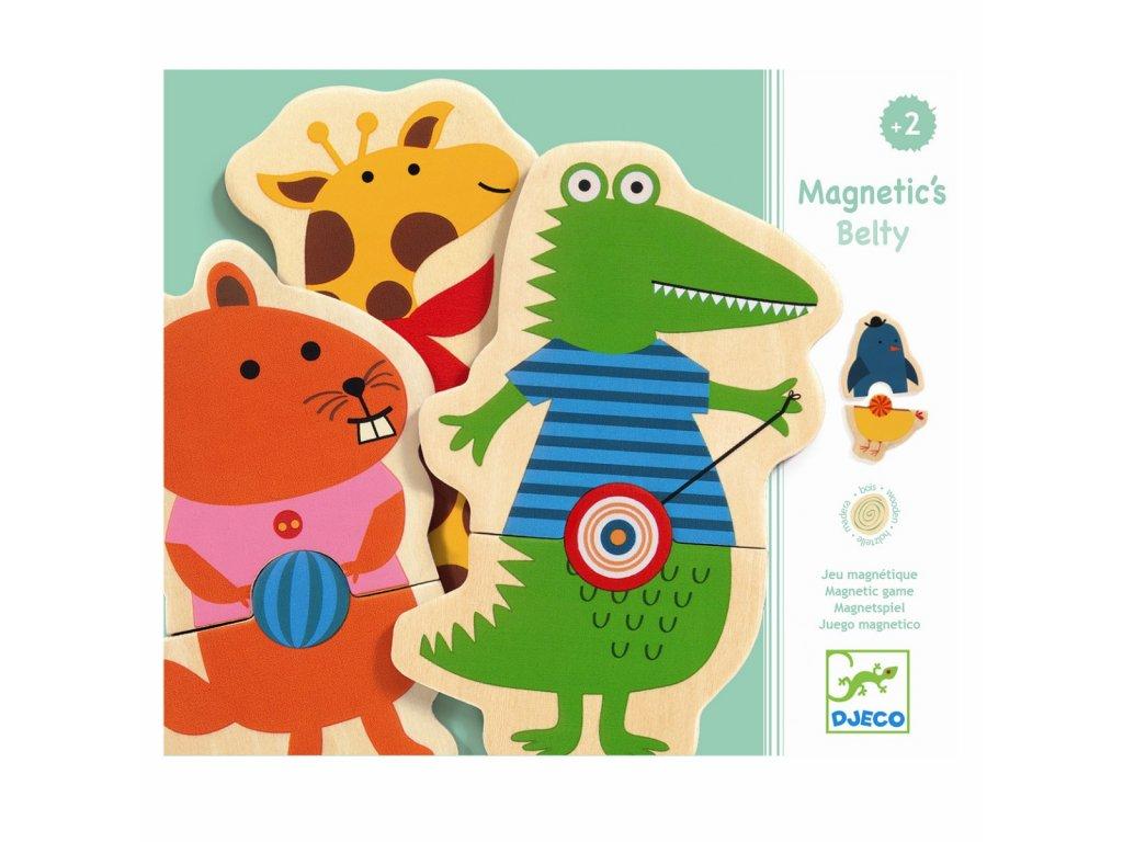 DJECO Magnety - Hravá zvířátka