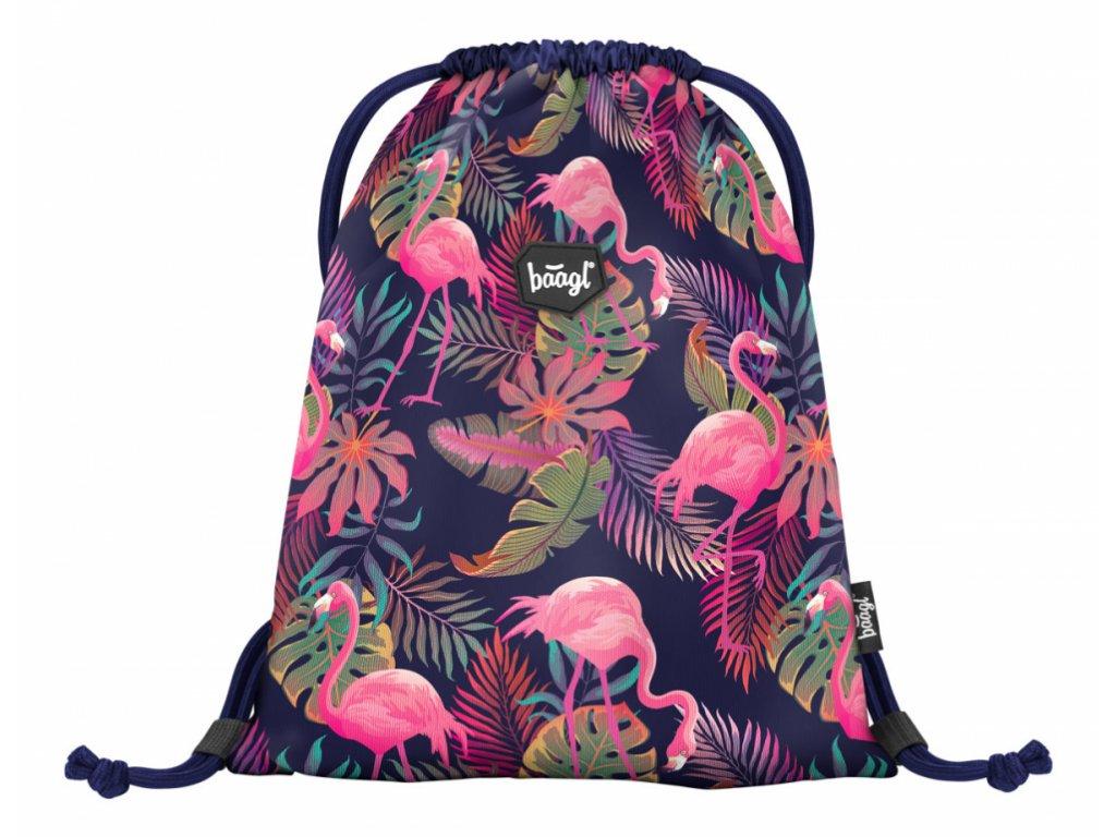 BAAGL Sáček na obuv Flamingo