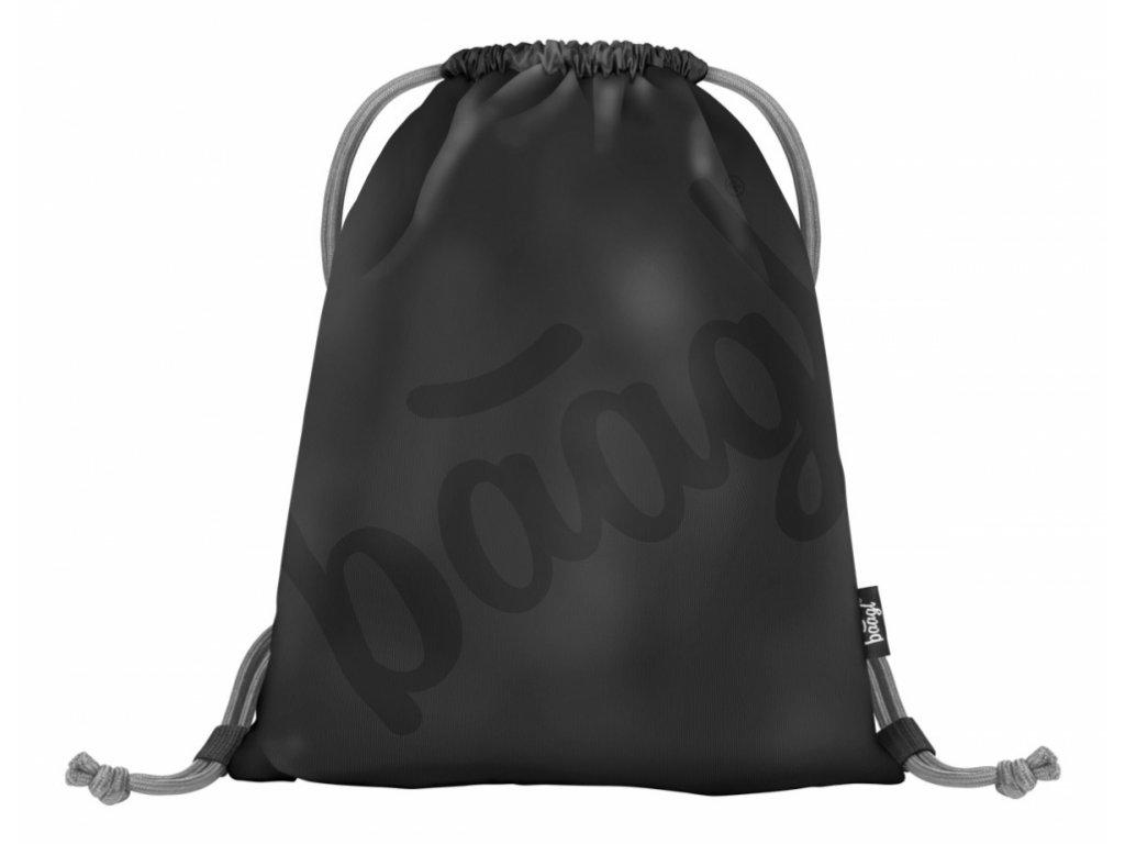 Sáček na obuv Logo black