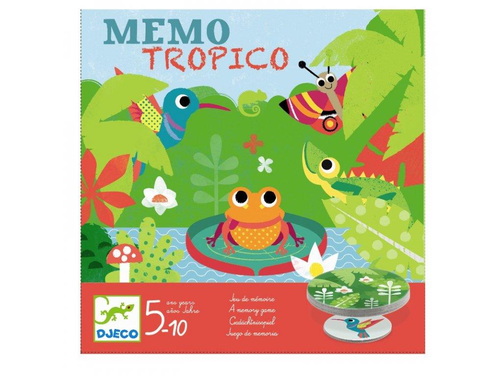 DJECO Hra - Memo Tropico